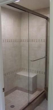 New Tile Walk In Shower