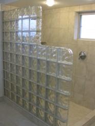 Glass Block Separation Walls